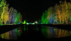 Erddig Hall Night Glow (orrellsphoto) Tags: christmas illuminations nightglow erddighall