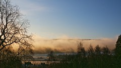 Winter morning Pitlochry (Gtarman1401) Tags: morning trees winter mist sunshine landscape scotland perthshire pitlochry
