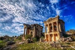 Imbriogon (Demircili) ,Mersin (Nejdet Duzen) Tags: trip travel turkey ancient roman trkiye tomb ruin mersin silifke harabe antik mezar turkei seyahat olba uzuncaburc imbriogon demircili tomallar