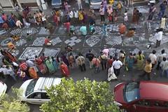 Street Art (prabhakaran.s) Tags: streetart festival chennai pongal southindia kolam rangoli onthestreets mylapore pongalcelebration kolamcompetition