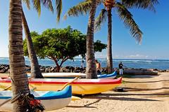 Duke Kahanamoku Beach (jcc55883) Tags: ocean hawaii nikon oahu pacificocean yabbadabbadoo d40 nikond40 dukekahanamokubeach alamoanaarea