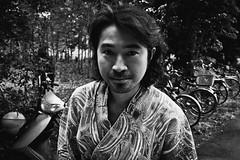 street portrait (harumichi otani) Tags: blackandwhite bw monochrome japan streetphotography streetphoto saitama