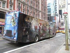 Alice Through the Looking Glass Bus Billboard 9149 (Brechtbug) Tags: street new york city nyc bus film glass cat movie tim looking cheshire near alice broadway lewis disney double billboard johnny billboards carroll through mad depp avenue wonderland 7th 42nd hatter burtons decker in 2016 05192016