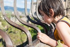 Look down (flowardent) Tags: spain ronda espagne andalousie enfance andaloucia fujix100