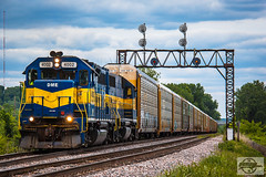 Southbound CP Local Train at Randolph, MO (Nanner Hogger) Tags: railroad train locomotive railfan railroading
