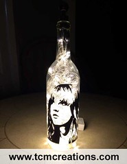 Stevie Nicks (TCM Creations) Tags: glass lamp bar john bottle mac pub wine stevie vinyl lindsay led christie decal mick buckingham nicks fleetwood rumors mancave mcvie