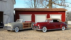 1948 Chrysler New Yorker Highlander - Town & Country Convertibles (JCarnutz) Tags: 1948 newyorker chrysler diecast towncountry 124scale danburymint
