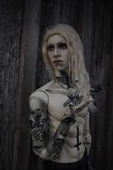 This empty life (Nattmaran) Tags: black metal doll thomas divine blond bjd simply balljointed varg loongsoul nattmaran