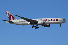A7-BBG   Boeing 777-2DZLR   Qatar Airways (cv880m) Tags: newyork kennedy jfk kjfk a7bbg boeing 777 772 77l 777200 7772dz qatar oryx qatarairways triple7 tripleseven