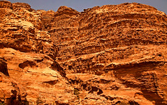 Path to the Monastery 8 (David OMalley) Tags: world city heritage rose rock stone site desert path petra siq carving unesco east jordan monastery arab middle carvings jordanian monumental jebel nabatean nabateans hewn maan almadhbah