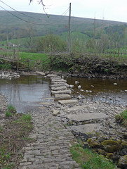 Ford across River Dee near Dent (Majorshots) Tags: ford dent cumbria rivercrossing riverdee dalesway dentdale ldwa deepdalebeck thedalesway