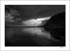 Darkness (tmuriel67) Tags: sky blancoynegro monochrome clouds reflections luces landscapes blackwhite negro cielo nubes sombras