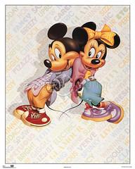 Mickey y Minnie (1988) (hernnpatriciovegaberardi (1)) Tags: mouse legs 1987 1988 disney mickey mickeymouse minnie minniemouse brillos piernas mejillas
