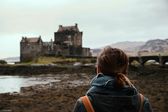 Eva / Eilean Donan Castle (Toine B.) Tags: uk castle kyle scotland britain great d750 eilean donan lochalsh tamron2470