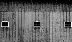 Barn - Explore #88 - 6-18-2016 - Holland Michigan (Meridith112) Tags: wood blackandwhite bw white 3 black holland window lines mi barn mono three blackwhite spring nikon midwest pattern michigan farm explore textures simplicity repetition april tuliptime weathered minimalist 2016 ottawacounty quincystreet tulipfarm explored nikon2485 nikond610 veldheertulipgarden explore6182016