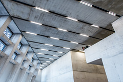Brutalist Photographer (Sean Batten) Tags: city windows england urban london lines architecture lights nikon photographer artgallery unitedkingdom tate tatemodern gb d800 switchhouse 1424 photo24london