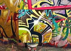 (reborart) Tags: california park usa streetart newyork art strange sport wall pine painting torino graffiti losangeles crazy bmx paint artist skateboarding centre babe pop lovers canvas popart basquiat skate works warhol chanel job murales ilove louisvuitton pinerolo llegal rebor reborart