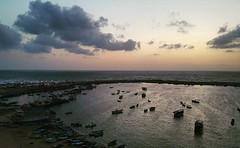 #Gaza  .. #Seaport #Sunset (TeamPalestina) Tags: light reflection heritage beautiful night sunrise canon landscape hope landscapes photo amazing nikon photographer natural sweet live palestine innocent dailylife comfort blockade freepalestine palestinian occupation  instagram