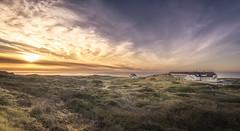 Svinklv (olemoberg) Tags: svinklv jammerbugten sea denmark dunes beachhotel sunset