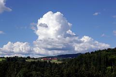 Wolkenstimmung ber dem Mhlviertel (rubrafoto) Tags: sommer wolken landschaft wetter stimmung mhlviertel ottensheim wolkenstimmung ooe witterung wolkenhimmel hgelland grnland wetterbild sommerlandschaft