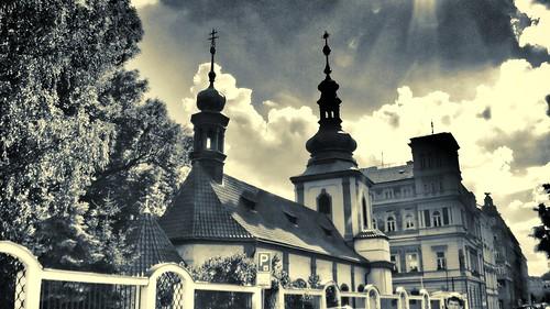 Kostel v Trojické ulici