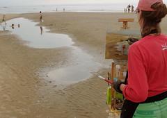 Schilderfestival Noordwijk 2016 (klaroen) Tags: schilder artist nederland painter kunstenaar noordwijk 2016 schilderfestival annekevanderlende