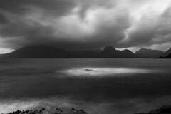 'Cuillin Blanket' (Alex_Wyatt_Photos) Tags: blackandwhite bw skye landscape scotland highlands long exposure cuillin elgol