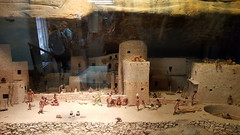 Diorama made by the WPA in the 1930