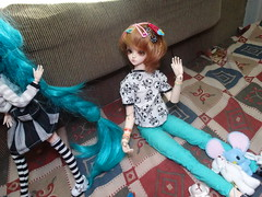 Dimenses [06/06] (Meteor-a) Tags: bjd ball jointed doll pullip cute kawaii hatsune miku minzy magic time miro connor femboy galinha pintadinha
