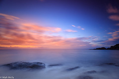 29122013-Mafrmcfa-08624.jpg (Mafr-Mcfa) Tags: agua mediterraneo sagaro amanecer nube catalonia spain mar cielo roca gerona arena playa