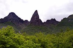 Hystakken -|- Mountain Heystack (erlingsi) Tags: hystakken syvde vanylven fjell mountain norway norwegen fjll mnt heystack trees grnt green monte