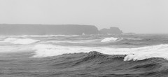 Wave after wave, wave after wave. (Chris B70D) Tags: trip friends summer mist storm beach rain weather landscape coast scotland highlands scenery waves cloudy no exploring north scottish we more dont end need uni elgin findhorn kinloss portsoy eduction