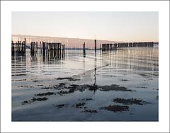 Pier double exposure I (Christa (ch-cnb)) Tags: sea norway pier norge doubleexposure decay olympus norwegian pro fjord trondheim zuiko decaying omd trndelag ranheim trondheimfjord microfourthirds mzd1240mm em5mkii