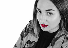 The Lips (PhotographerJockeFransson) Tags: bw black white lips portrait 85mm