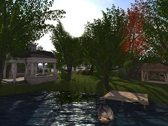 Celestial isle (Celestial Place) Tags: beach water forest garden dance landscaping cottage location gazebo hugs isle