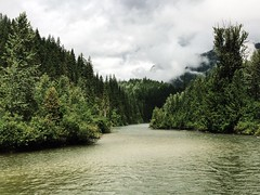 (levourukou) Tags: travel mist canada nature water clouds river landscape moss britishcolumbia hike jordan explore trail roam loam iphone iphonography explorebc explorecanada iphoneonly iphone5s