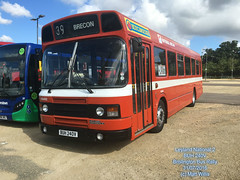 LEYLAND NATIONAL 2 BUH 240V BRISLINGTON BUS RALLY 31072016 (MATT WILLIS VIDEO PRODUCTIONS) Tags: leyland national 2 buh 240v brislington bus rally 31072016