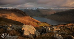 Wast Water from Middle Fell (M J Turner Photography ) Tags: england lakedistrict cumbria scafell scafellpike wastwater wasdale yewbarrow middlefell