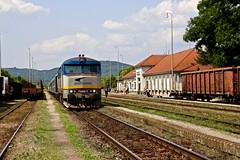 752 046-3 Strazske, Slovakia 22 Jun 16 (doughnut14) Tags: diesel rail loco slovensko slovakia grumpy notforprofit nfp ckd strazske 7520463 zeleznicne