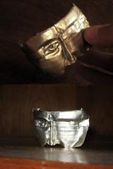 Rostro consumido V. 2 / Shrivelled face V. 2 (Gastn Origami) Tags: face origami mask wine mascara papiroflexia rostro vino