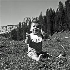 Gianna ;/) (schyter) Tags:  salyut type ii 1965 6x6 medium format medio formato arsenal kiev pellicola film analogica analogic soviet camera ukranian 11500 b industar29 2880mm fsu macchina fotografica bw bn bianconero blackwithe mf fomapan100 adox adonal 137 lens spotmeter homemade development homemadescanned tank ap compact argentica epson v600 allaperto monocromo cortinadampezzo dolomiti dolomites altopiano rastua ampezzano rapri e201