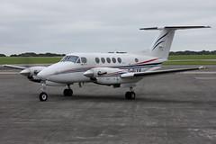 2016-08-12-005FD G-FLYW (BringBackEGDG) Tags: newquay stmawgan beechcraft beech 200 super king air gflyw