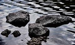 Dark (KWinters Photography) Tags: stones d5500 nikondsl black flickr nikkor nikon colorado stream nature outdoor dark lake ripples water rocks