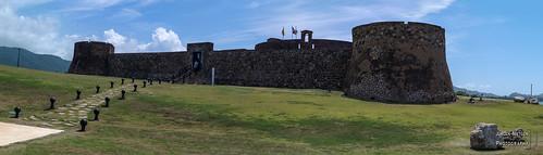 Panorama der Festung Fortaleza San Felipe