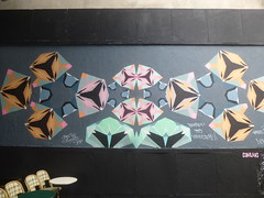 Coni Lars : kaleidoscope (samedi 13 aot 2016) (Archi & Philou) Tags: conilars murxi streetart oberkampf paris11 kaleidoscope chili murpeint paintedwall