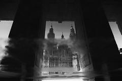 180 (you feel me) Tags: santiagodecompostela cathedral blackandwhite blackwhite blancoynegro biancoenero noiretblanc schwarzweis monochrome monotone art runkewitz travel series spain galicia architecture