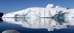Big Iceberg with a Reflection in Torssukatak (twiga269  FEMEN #JeSuisCharlie) Tags: twiga269 om  whatareyoutrainingfor gettingstrongereveryday wanderlust wilderness mountainwilderness mw gngl grandnordgrandlarge gro023 iceisbeautiful 70n 70north greenland kalaallit nunaat kalaallitnunaat disko bay baiededisko diskobugten iceberg icefjord isfjord jakobshavn ilulissat qeqertaq saqqaq groenland grnland groenlandia grnland grenlandia   kayak ice hielo glace glacier immense gletscher ericchazal arctic diskoline inlandsis torssukatak kangilerngata kangilerngatasermia eqi eqip sermia smallesund