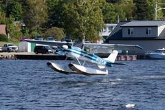 Private Cessna 150G N150CM (jbp274) Tags: 52b greenville greenvilleseaplaneflyin flyin airplanes seaplane floatplane lake water mooseheadlake cessna c150