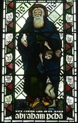 [45591] St Editha, Tamworth : Abraham (Budby) Tags: tamworth staffordshire church window stainedglass preraphaelite