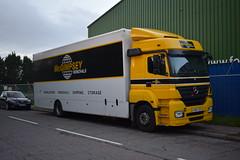 McGimpsey Removals Mercedes Benz Axor KX08 CZR (5asideHero) Tags: removal lorry mcgimpsey removals mercedes benz axor kx08 czr